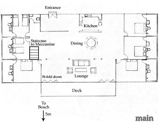 Floor plans for the owner 39 s residence sambolo beach for X2 residency floor plan